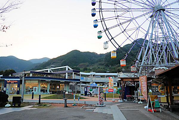 道の駅「富士川楽座」より富士川サービスエリア