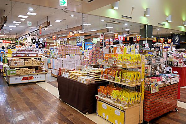 道の駅「富士川楽座」3階売店
