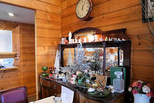 イタリアンレストラン「バルコ デル チェロ」のクリスマスオーナメント