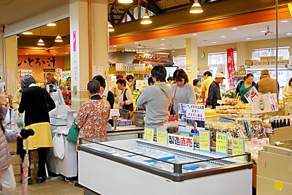 道の駅「掛川」売店
