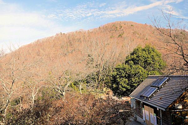 20190119二上山 (6)馬の背近くから雄岳