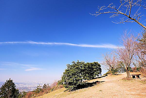 20190130-1-二上山_万葉広場