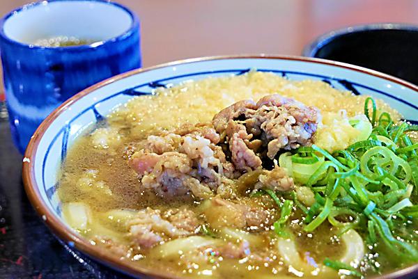 20190129(4)丸亀製麺_肉うどん