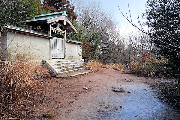 20190204二上山 (3)雄岳_葛木二上神社