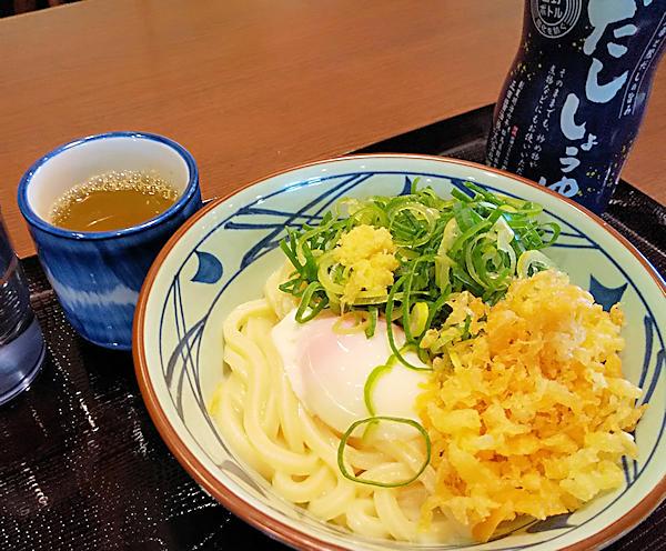 20190324 (1)丸亀製麺_釜玉うどん