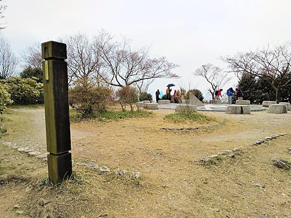 20190330二上山 (3)雌岳山頂