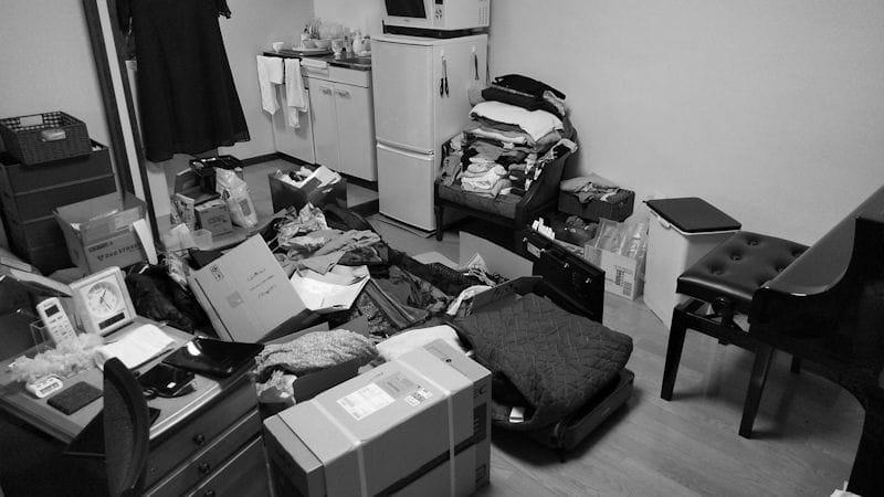 汚部屋は、いま、こんな感じ