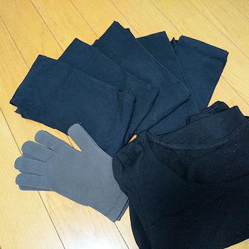 No.0210-216 タイツ5足、手袋、肌着